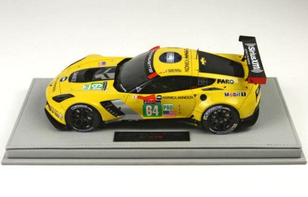Corvette山坳貝特C7.R LM GTE Pro/BBR 1/18樹脂微型轎車