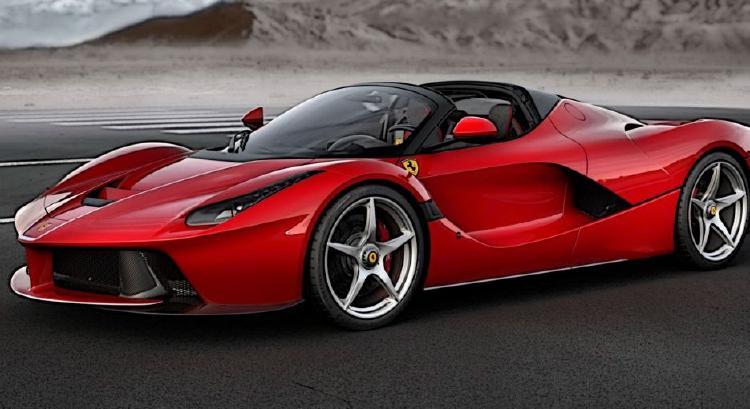 【予約】LaFerrariラ・フェラーリ Aperta Rosso Corsa - Argento Nurburgring /BBR 1/12 ミニカー