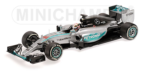 MERCEDES GP | F1 W06 AMG PETRONAS N 44 WINNER AUSTRALIAN GP AND WORLD CHAMPION 2015 LEWIS HAMILTON | SILVER GREEN /Minichampsミニチャンプス 1/18 ミニカー