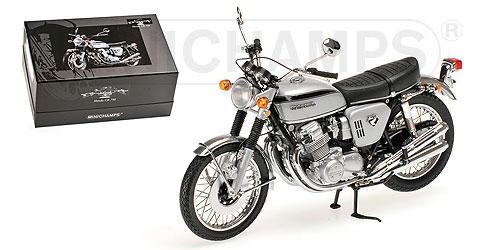 HONDAホンダ| CB 750 1969 | SILVER /Minichampsミニチャンプス 1/12 ミニカー