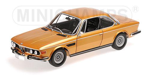 BMW | 3.0 CSi E9 COUPE 1972 | GOLD MET /Minichampsミニチャンプス 1/18 ミニカー