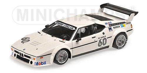 BMW | M1 PROCAR TEAM BMW ITALIA N 40 WINNER ZOLDER 1979 E.DE ANGELIS | WHITE /Minichampsミニチャンプス 1/18 ミニカー