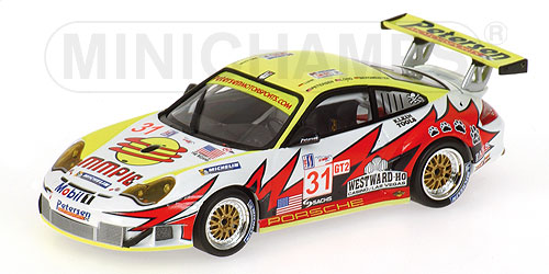 【新発売】 PORSCHEポルシェ 2005 LUHR | 911 GT3RSR | N 31 WINNER CLASS 12h SEBRING 2005 LONG LUHR | WHITE YELLOW RED/Minichampsミニチャンプス 1/43 ミニカー, カミユウベツチョウ:8dfaf6e3 --- clftranspo.dominiotemporario.com