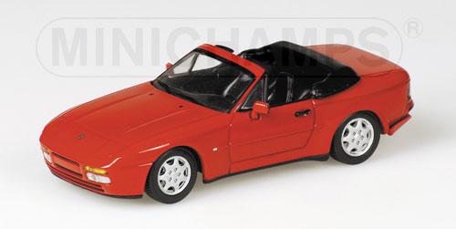 最新入荷 PORSCHEポルシェ | 944 RED CABRIOLET 1991 | 944 RED/Minichampsミニチャンプス 1 |/43 ミニカー, シーオーシー404:a0facf61 --- konecti.dominiotemporario.com