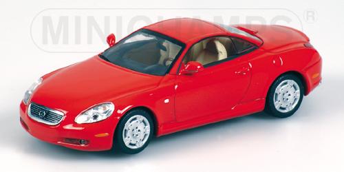 【正規販売店】 LEXUS | SC430 CABRIOLET | HARD TOP CLOSED 2001 | ミニカー CABRIOLET RED/Minichampsミニチャンプス 1/43 ミニカー, 野尻町:de7b50ec --- canoncity.azurewebsites.net