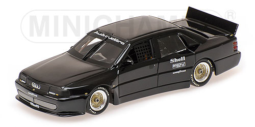 AUDI | 200 QUATTRO TEST CAR TRANS-AM 1988 | BLACK /Minichampsミニチャンプス 1/43 ミニカー