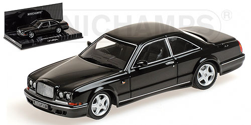 BENTLEY | CONTINENTAL T 1996 | BLACK /Minichampsミニチャンプス 1/43 ミニカー