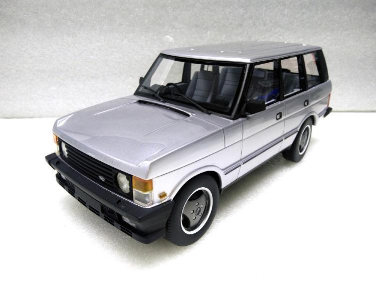 【予約】Range Roverレンジローバー Series 1 1986 silver /Lucky Step 1/18 ミニカー
