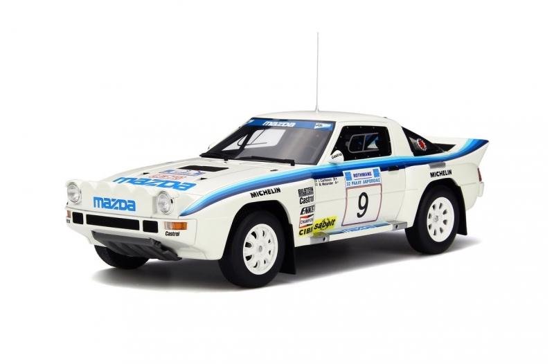 【予約】6月以降発売予定Mazda RX-7マツダ Groupe B /OTTO MOBILE オット 1/18 レジン ミニカー