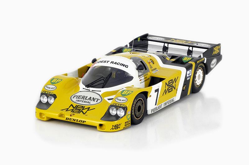 【予約】PORSCHEポルシェ 956 #7 1984 Winner Le Mans 24 Hrs /TrueScale 1/12 ミニカー