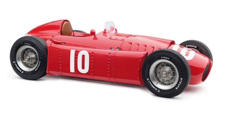 Lancia D50, 1955 GP Pau #10 Eugenio Castellotti /CMC 1/18 レジンミニカー