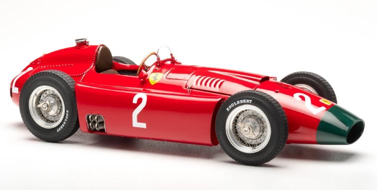 Ferrariフェラーリ D50, 1956 long nose GP Germany #2 Collins /CMC 1/18 レジンミニカー
