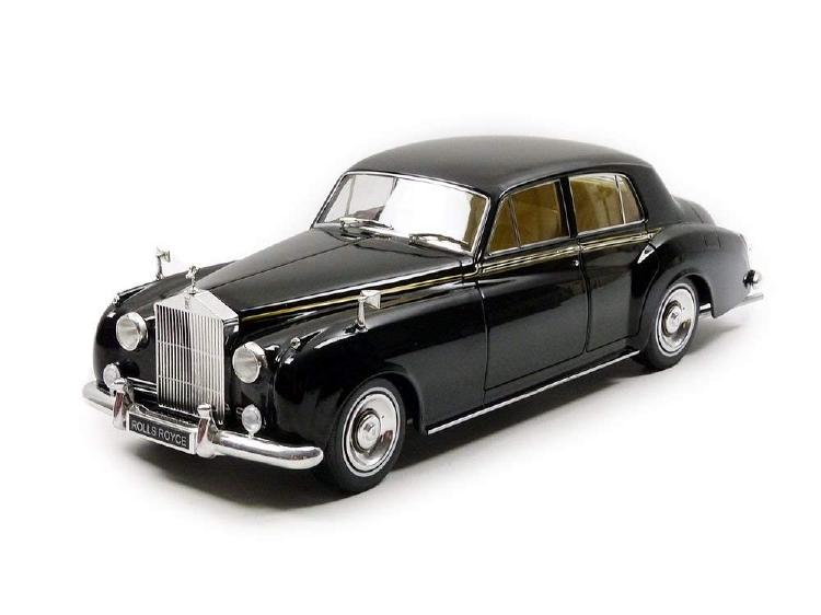 ロールスロイス Silver Cloud II ? 1960 black /Minichampsミニチャンプス 1/18 ミニカー