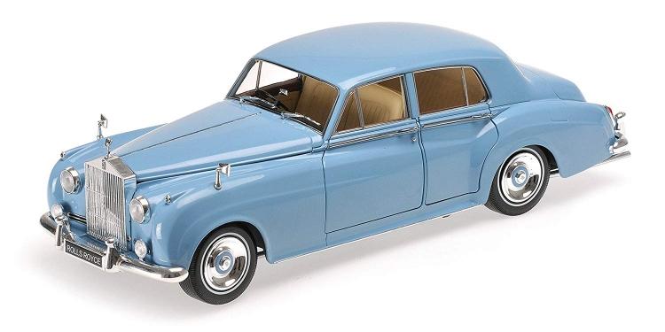 ロールスロイス | SILVER CLOUD II 1960 | LIGHT BLUE /Minichampsミニチャンプス 1/18 ミニカー