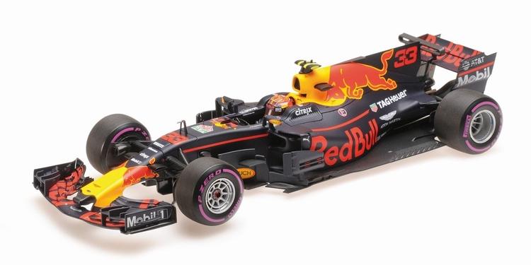RED BULL - F1 TAG HEUER RB13 N 33 WINNER MEXICAN GP 2017 M.VERSTAPPEN /Minichampsミニチャンプス 1/18 ミニカー