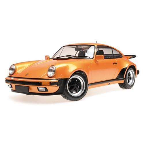 PORSCHEポルシェ 911 Turbo 1977 オレンジメタリック /Minichampsミニチャンプス 1/12 ミニカー