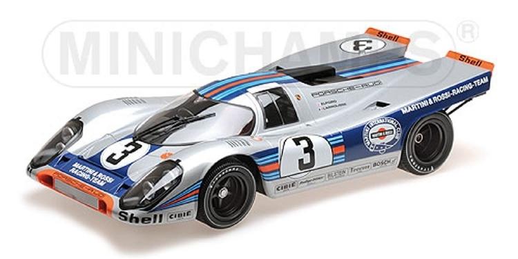 PORSCHEポルシェ - 917K TEAM MARTINI RACING N 3 WINNER 12h SEBRING 1971 V.ELFORD - G.LARROUSSE /Minichampsミニチャンプス 1/12 ミニカー