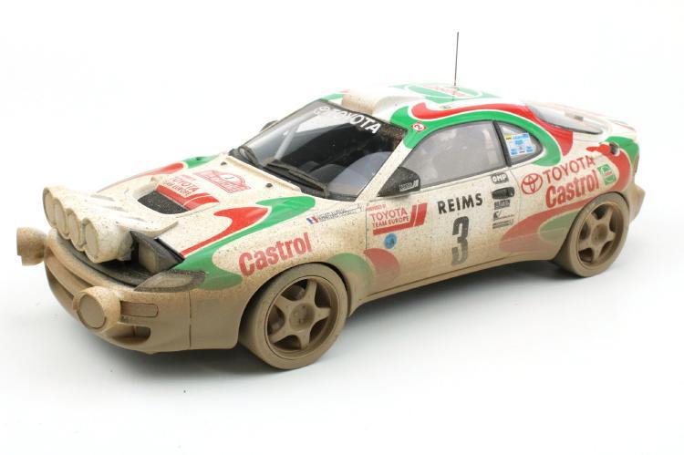 【予約】6月以降発売予定Toyota Celicaトヨタ セリカ MC Winner 1993 dirty version /TOPMARQUES 1/18 ミニカー