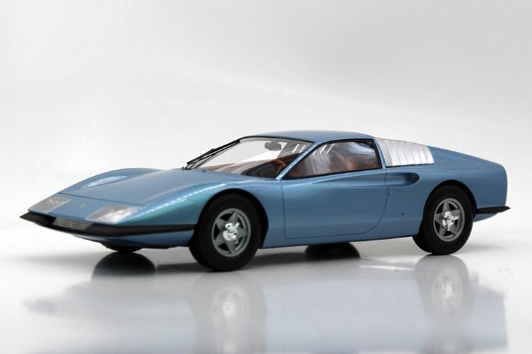 【予約】7月以降発売予定Ferrariフェラーリ P6 Prototype blue /Top Marques 1/18 ミニカー