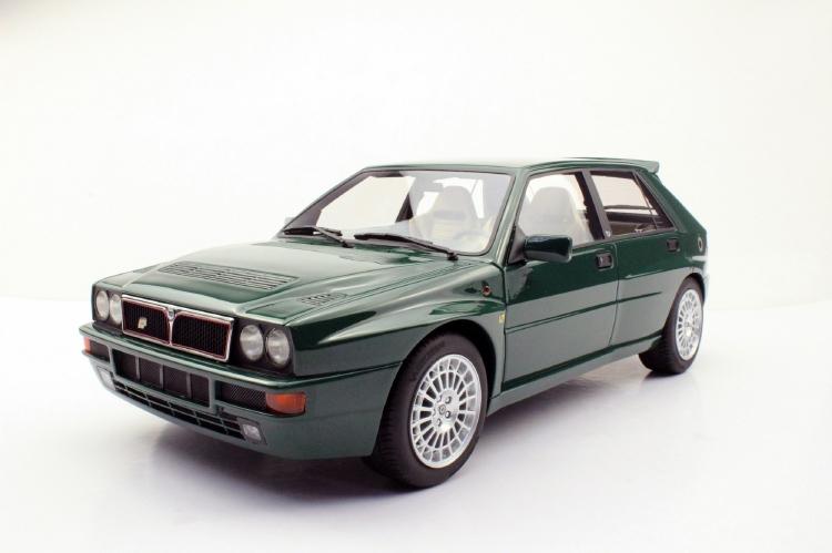【予約】7月以降発売予定Lancia Delta Integrale Evolution II Verde York Green /Top Marques 1/12 ミニカー