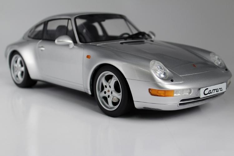 【予約】8月以降発売予定PORSCHEポルシェ 911 993 CARRERA 2 1994 silver /Top Marques 1/12 ミニカー