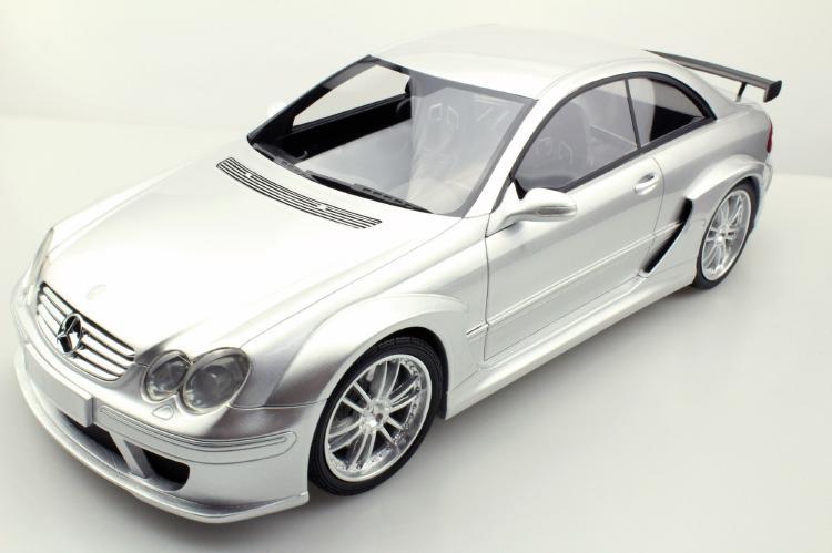 【予約】12月以降発売予定CLK DTM シルバー /TOPMARQUES 1/12 レジンミニカー