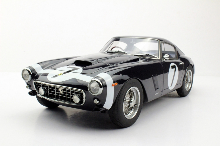 【予約】7月以降発売予定Ferrariフェラーリ 250 GT SWB Chassis 2735 GT Black with racing decals /Top Marques 1/12 ミニカー
