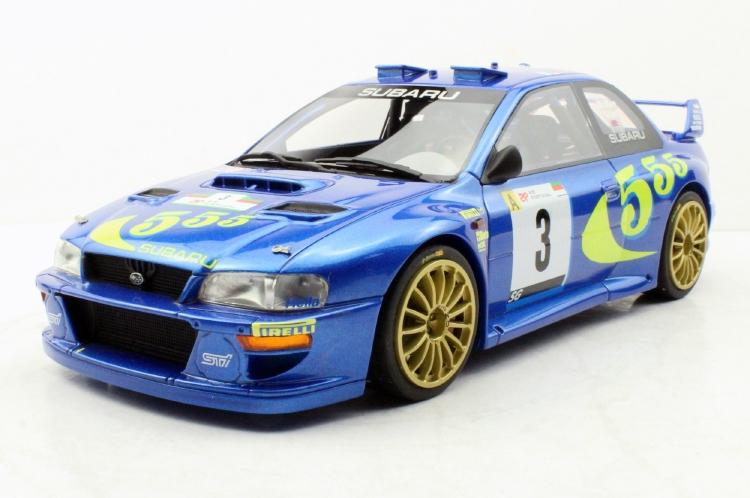 【予約】5月以降発売予定SUBARU IMPREZAスバルインプレッサ S4 WRC N 3 WINNER RALLY PORTUGAL 1998 C.MCRAE - N.GRIST /Top Marques 1/18 ミニカー