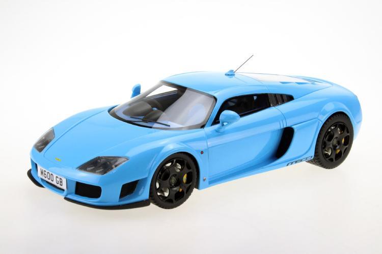 【予約】3月以降発売予定Noble M600 ブルー /TOPMARQUES 1/18 レジンミニカー