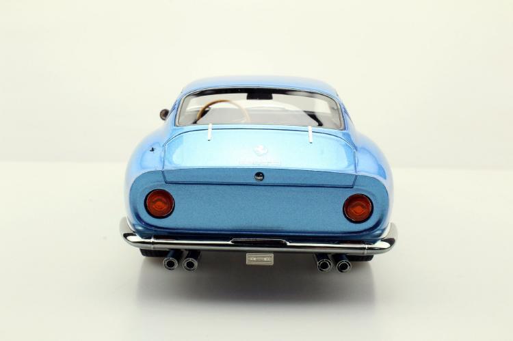 【予約】2月以降発売予定275 GTB/4 Metallic ブルー /TOPMARQUES 1/18  レジンミニカー