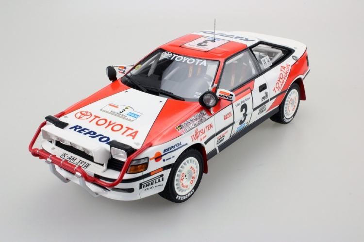 【予約】12月以降発売予定Toyota Celicaトヨタセリカ St 165 Safari 1990 /TOPMARQUES 1/18 レジンミニカー