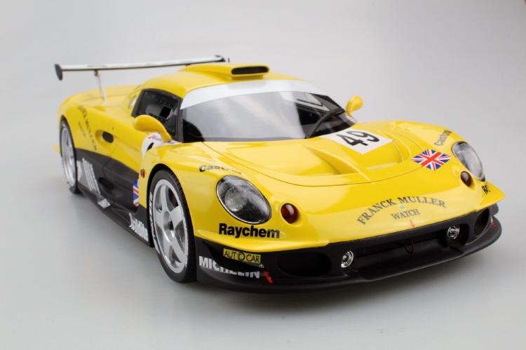 【予約】12月以降発売予定Lotus Elise GT1 Yellow/Green Racing /TOPMARQUES 1/18 レジンミニカー