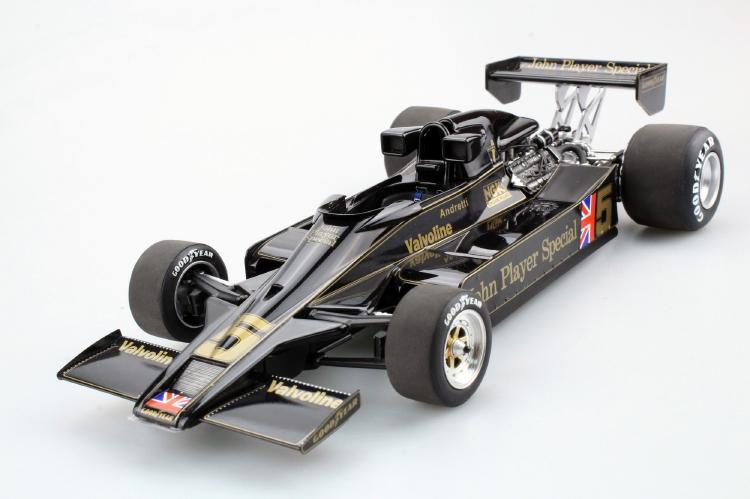 【予約】3月以降発売予定LOTUS F1 78 N 5 SEASON 1977 MARIO ANDRETTI /GP Replicas 1/18 ミニカー