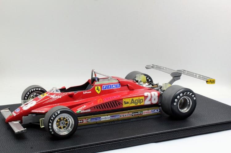 【予約】4月以降発売予定F1 126C2 N 28 LONG BEACH GP 1982 DIDIER PIRONI /GPレプリカ 1/12 ミニカー