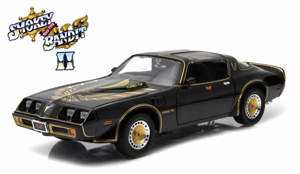 PONTIAC - FIREBIRD TRANS-AM COUPE 1980 - SMOKEY AND THE BANDIT II /Greenlight 1/18 ミニカー