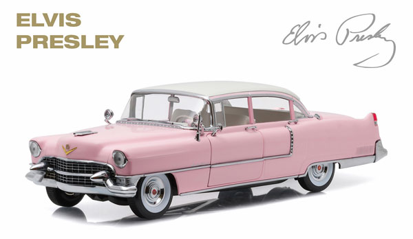 CADILLAC - FLEETWOOD SERIES 60 1955 - PERSONAL CAR ELVIS PRESLEYエルビスプレスリー /Greenlight 1/18 ミニカー