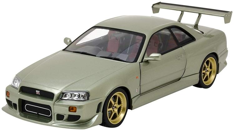 NISSAN - SKYLINE日産スカイライン GT-R (R34) 1999 /Greenlight 1/18 ミニカー