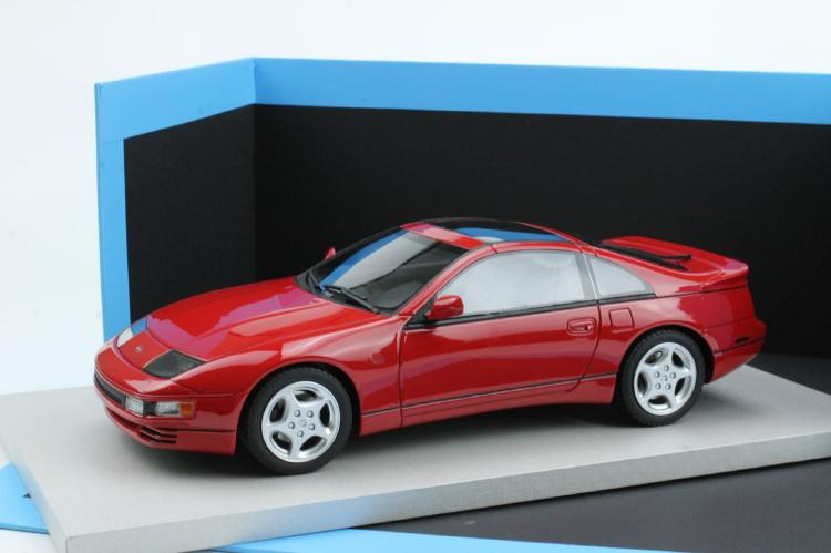 【予約】4月以降発売予定Nissan日産 300ZX 1992 red /Lucky Step Models 1/18 ミニカー