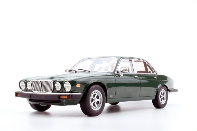 Jaguarジャガー XJ6 1982 green /LS-Collectibles 1/18 レジン ミニカー
