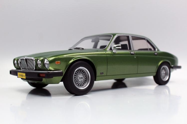 【予約】8月以降発売予定JAGUARジャガー XJ6 1982 green /LS Collectibles 1/18 ミニカー
