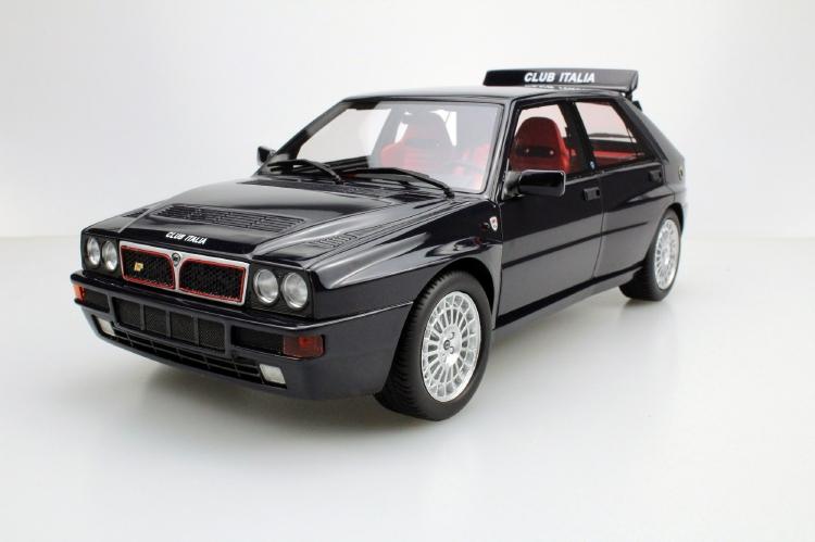 【予約】10月以降発売予定Lancia Delta Integrale Evolution II /Lucky Step Models 1/18 ミニカー