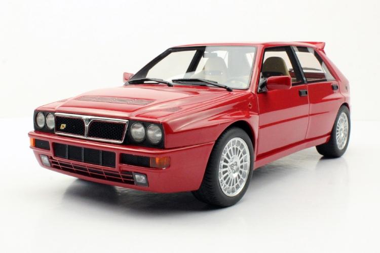 【予約】8月以降発売予定Lancia Delta Integrale Evolution II RED Dealers Edition /LS Collectibles 1/18 ミニカー
