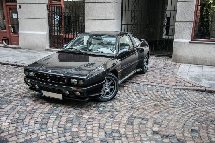 【予約】7月以降発売予定Maseratiマセラティ Shamal 黒ブラック /LS Collectibles 1/18 レジンミニカー