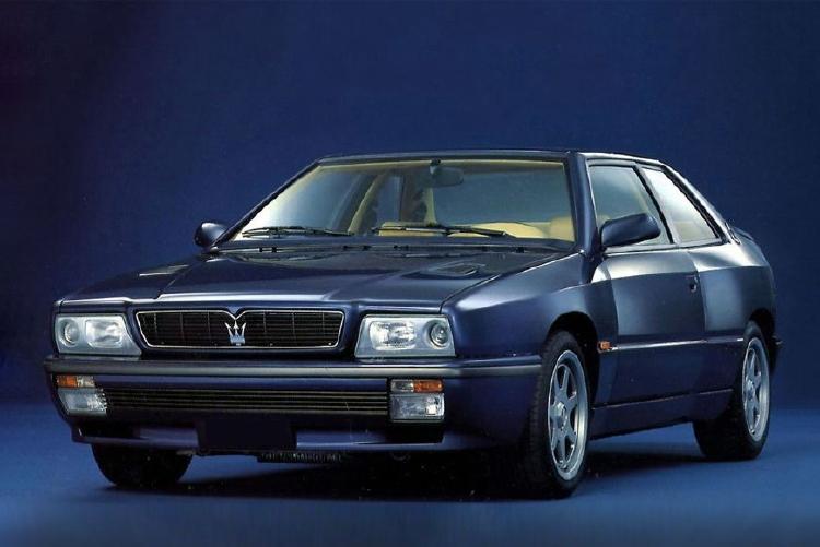 【予約】7月以降発売予定Maseratiマセラティ Shamal 青ブルー /LS Collectibles 1/18 レジンミニカー
