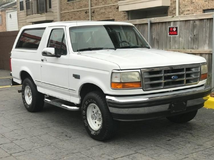 【予約】7月以降発売予定Ford Bronco 1992 白ホワイト /LS Collectibles 1/18 レジンミニカー