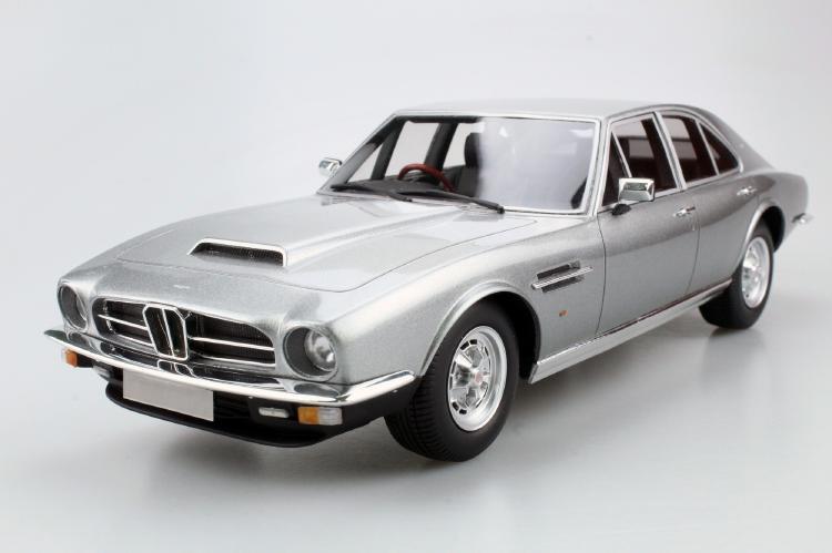 Aston Martinアストンマーチン Lagonda 1974 saloon シルバー /LS COLLECTIBLES 1/18 レジンミニカー