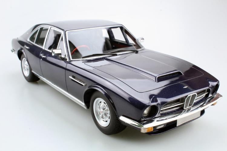 Aston Martinアストンマーチン Lagonda 1974 saloon ブルー /LS COLLECTIBLES 1/18 レジンミニカー