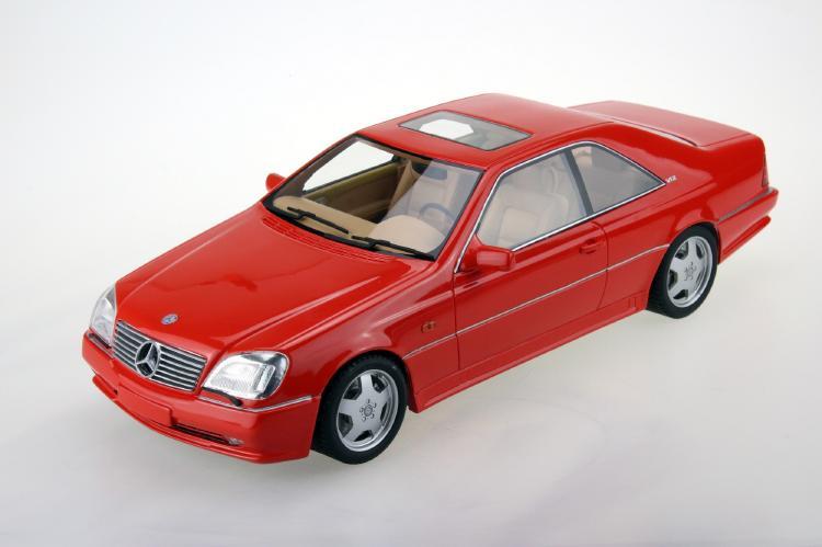 【予約】1月以降発売予定AMG-Mercedes CL600 7.0 Coupe レッド /LS COLLECTIBLES 1/18 レジンミニカー