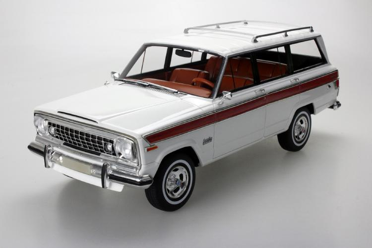 Jeep Grand Wagoneer ホワイト /LS COLLECTIBLES 1/18 レジンミニカー