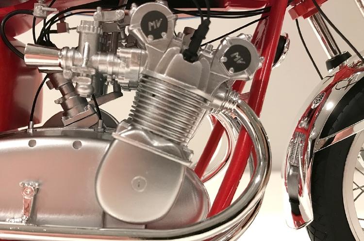1972 MV Agusta 750S バイク模型 /VINTAGE MOTOR BRANDS 1/6 ミニカー